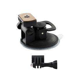 ショートサクションカップマウント GoPro&デジカメ&ウェアラブルカメラ対応  [REC-B42GPCN]