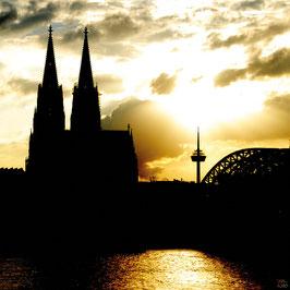 Kölner Dom Abendstimmung