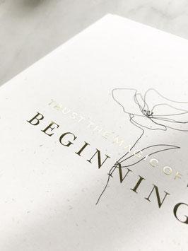 Wochenplaner 2020 - trust the magic of new beginnings