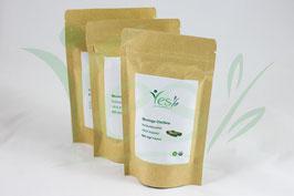 NATUR Moringa Kapseln  (3 x 120 vegetarische Kapseln gefüllt mit  600mg Moringa Pulver) 100% Natur-Moringa aus ökologischem Wildwuchs