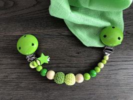 Nuschelikette grün