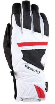 Roeckl Skihandschuh Sula GTX Gr. 9 + 9,5 weiß/schwarz