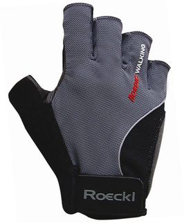 Roeckl Air Walk Nordic Walking Handschuh Gr. 6,5 grau