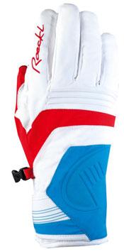 Roeckl Skihandschuh Comeira GTX® Gr. 7,5 weiß