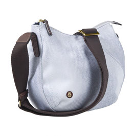 Roeckl Bottle Shoulder Bag S indigo/white