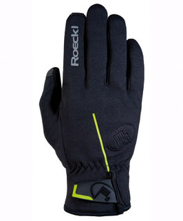 Roeckl Kivik Outdoorhandschuh Multisport Gr. 7,5 schwarz/limone