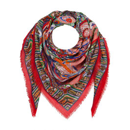 Roeckl Mexican Paisley multi red