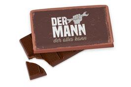 """Schokolade """"Der Mann der alles kann"""""""