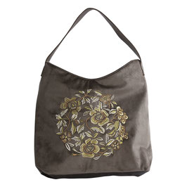 The Moshi Schultertasche Madelyn, Taupe
