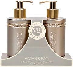 Vivian Gray Geschenkset Brown Crystals Handpflege