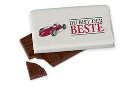 """Schokolade """"Du bist der Beste"""""""