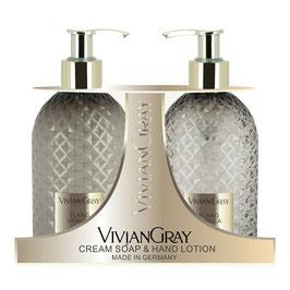 Vivian Gray Gemstone Ylang & Vanilla Flüssigseife & Handlotion