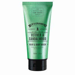 Scottish Fine Soaps Men's Grooming Vetiver & Sandalwood Hair & Body Wash