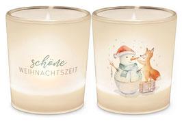 """1 Teelicht """"Schöne Weihnachtszeit"""""""