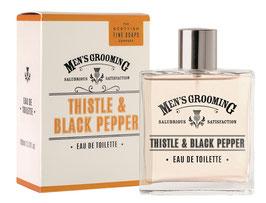 Scottish Fine Soaps Men's Grooming Thistle & Black Pepper Eau de Toilette