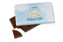 """Schokolade """"Zum Geburtstag"""""""