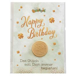 HERGO Creation Glückstaler Happy Birthday