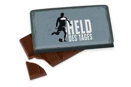 "Schokolade ""Held des Tages"""