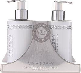 Vivian Gray Geschenkset white Crystals Handpflege