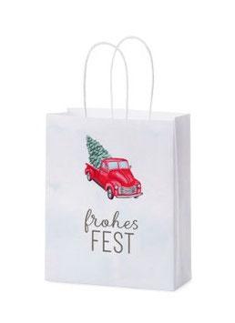 """Geschenktasche """"Frohes Fest"""""""