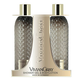Vivian Gray Gemstone Ylang & Vanilla Duschgel & Bodylotion
