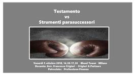Testamento vs Strumenti parasuccessori
