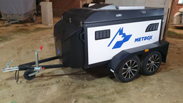 METBOX dogtrailer Sport 3 Black Knight