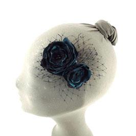 Fascinator Spitzenblüten