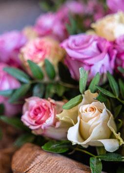 Bouquet de roses*