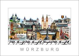 Stadtansicht Würzburg