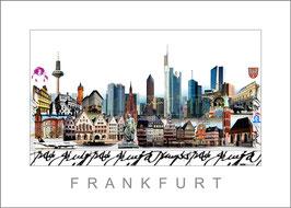 Stadtansicht Frankfurt
