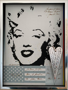 Love Note Objekt Marylin Monroe