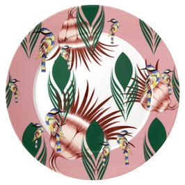 Meissen - Meissen Collage Rainbow Birds Präsentierteller