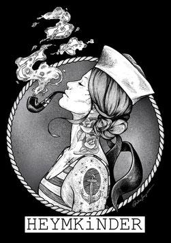 Kunstdruck - Motiv:  Seemannsfrau