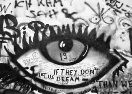 Kunstdruck - Motiv: Auge