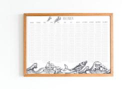 Kalender - Geburtstagskalender - maritim