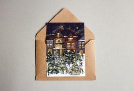 Weihnachtskarte - Weihnachtstsadt - Weihnachtswunder