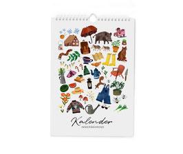 Kalender - ewiger Kalender - Geburtstagskalender - Jahresvielfalt