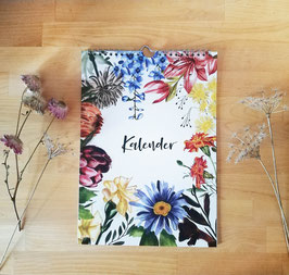 Kalender - ewiger Kalender - Blumen
