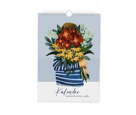 Kalender - ewiger Kalender - Blumenstrauß