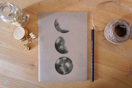 Notizheft - Mondphasen