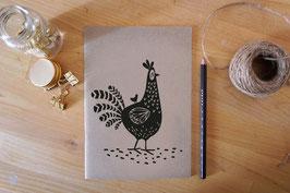 Notizheft - Huhn mit Küken