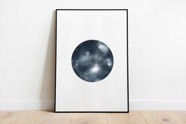 Poster - Vollmond - Luna