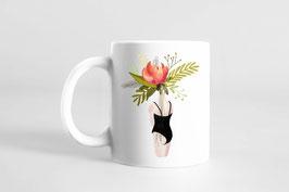 Tasse - Selbstliebe - Frauenkörper