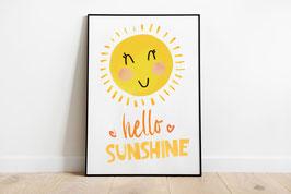 Poster - Süße Sonne - Hello Sunshine