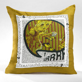 "DEKOKISSEN/PILLOWCASE ""GRRR"" - DPC-AC 008-14 40-40"