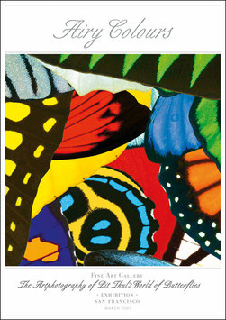 """Künstlerisches Plakat """"Airy Colors"""" - P007/01"""