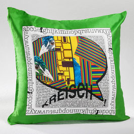 "Dekokissen/Pillowcase ""KREISCH"" - DPC-AC 001-14 40-40"
