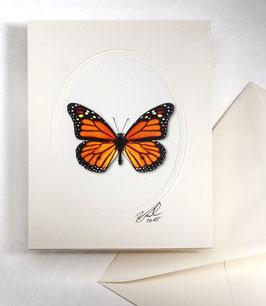 """Kunstkartenset """"Schmetterling"""" AT-0027 - Danaus plexippus -"""