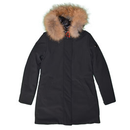 PARKA CON COLLO DI PELO DONNA MIXTURE